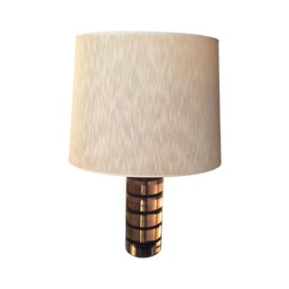 Roche Bobois Vintage Cylindrical Table Lamp