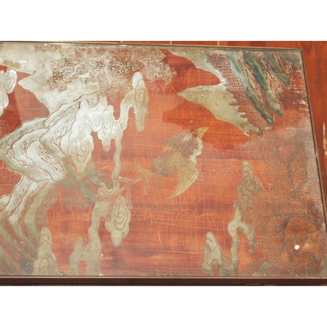 Image of A French Coromandel Screen Coffee Table