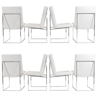 """Milo Baughman """"1187"""" Dining Chairs - Set of Eight"""