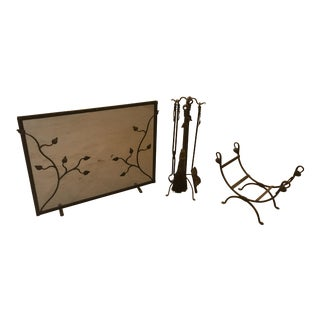 Stone County Ironworks Fireplace Set