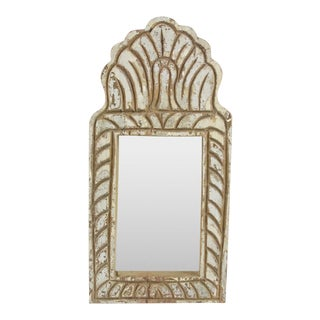 Weathered Teak Jharoka Mirror