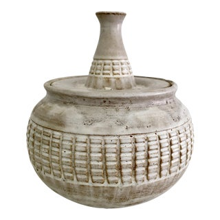 Douglas Ferguson of Pigeon Forge Pottery Studio Lidded Pot
