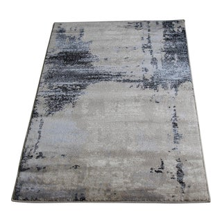 "Abstract Modern Brown Rug - 5′3"" × 7′7"""