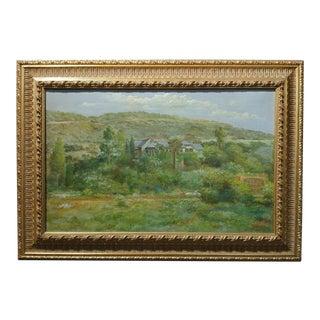 Andreas Roth -Luscious Montecito,CA Estate -Oil Painting, 1933