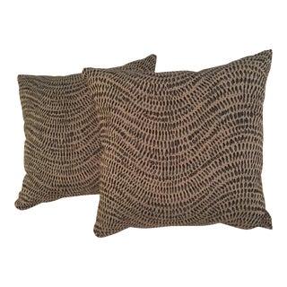 Contemporary Accent Pillows - A Pair