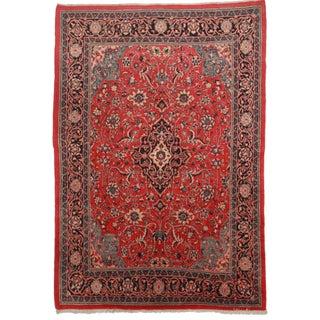 Persian Mahal Wool Rug - 7′2″ × 10′4″