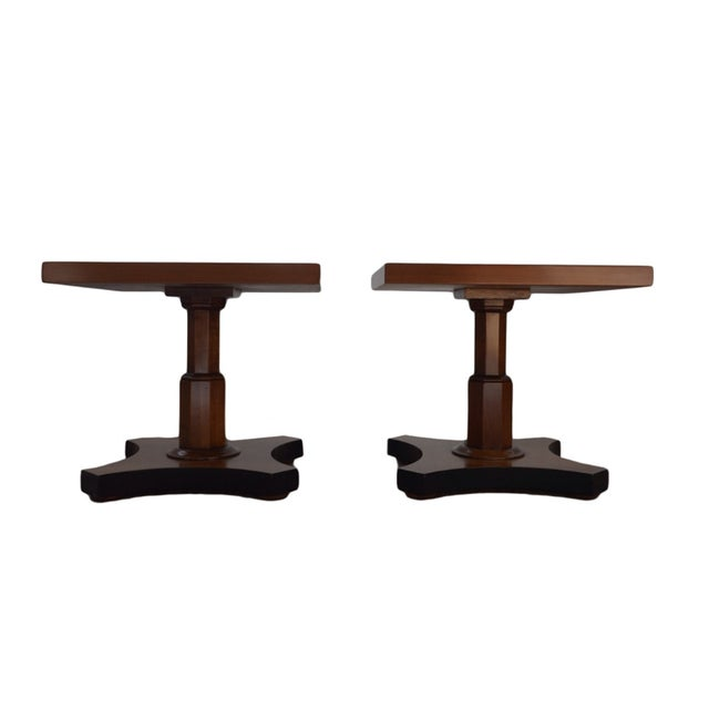 Palladian Collection Tables Designed by Baker - A Pair - Image 2 of 4