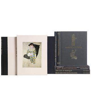 Gilded Onyx Art Books - S/7