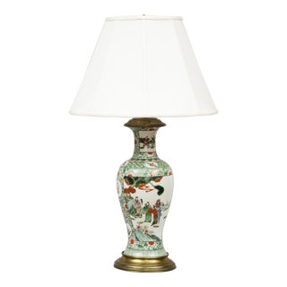 Antique Chinese Porcelain Lamp