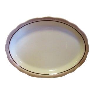 Mid-Century Buffalo China Serving Platter