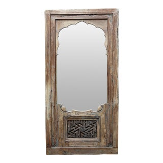 19th C. Carved Mudejar Arch Mirror