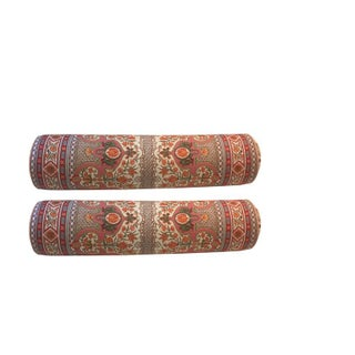 Bruschwig & Fils Bolster Pillows - A Pair