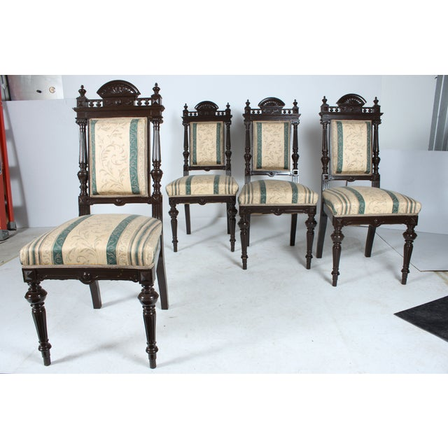 Image of Baroque-Style Dining Chairs - Set of 4