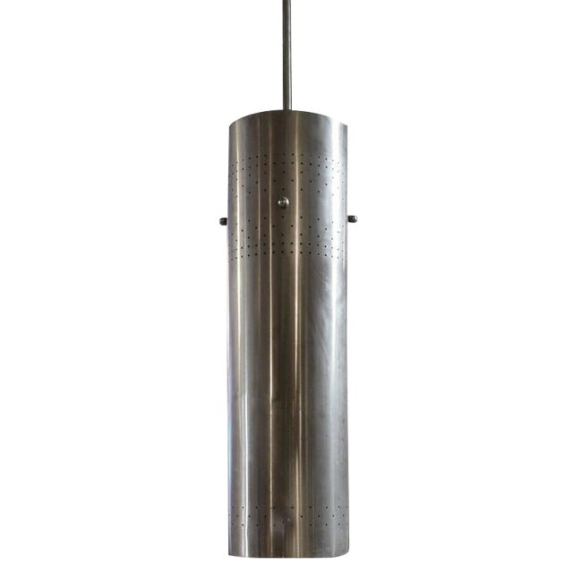 American Mid-Century Cylinder Light Fixture - Image 1 of 4