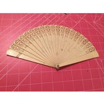 Image of Antique Americana Design Fan