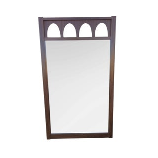 Vintage Mirror With Arched Detail