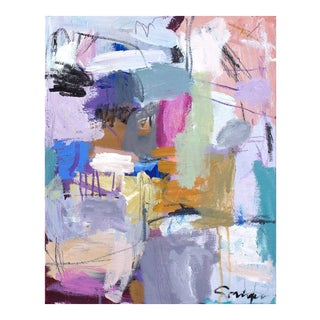 'Begin Again' Abstract Painting