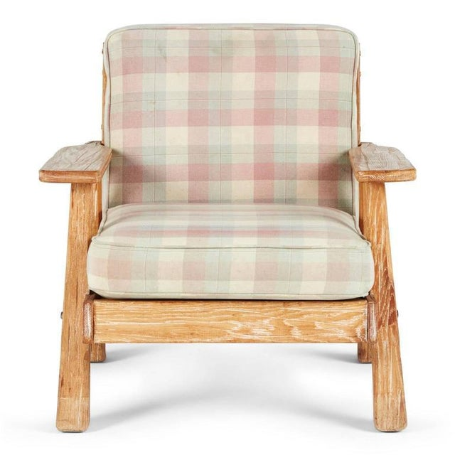 A. Brandt Ranch Textured Oak Seating Set - Image 3 of 9