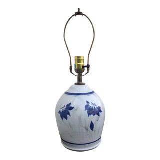 Stoneware Ceramic Lamp