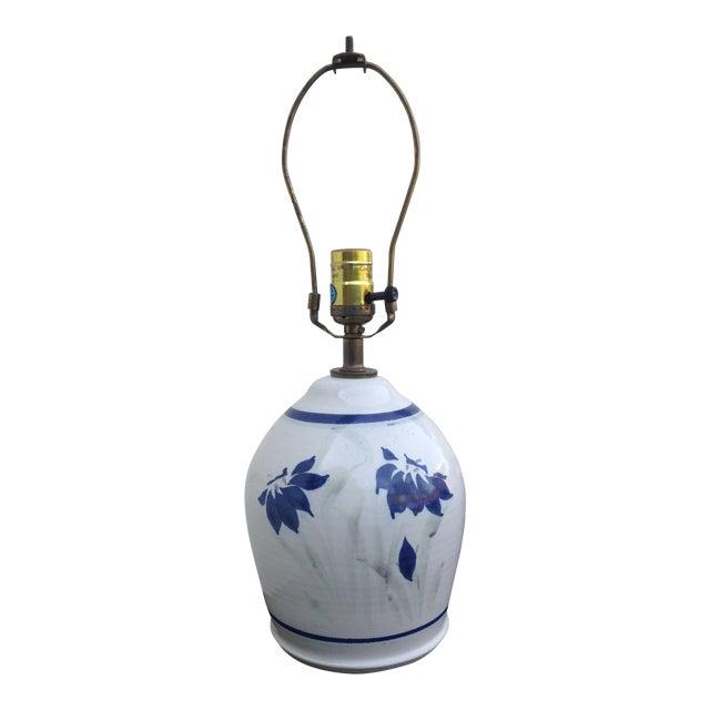 Stoneware Ceramic Lamp - Image 1 of 5