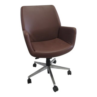 Coalesse Bindu Conference Chair Brown Leather