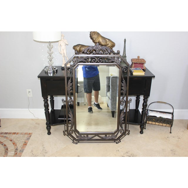 Image of French Art Deco Mirror