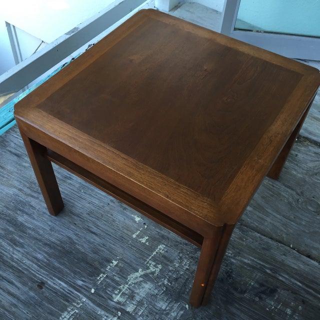Mid-Century Walnut Side Table - Image 7 of 7
