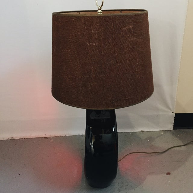 Mid-Century Sculptural Table Lamp - Image 5 of 5