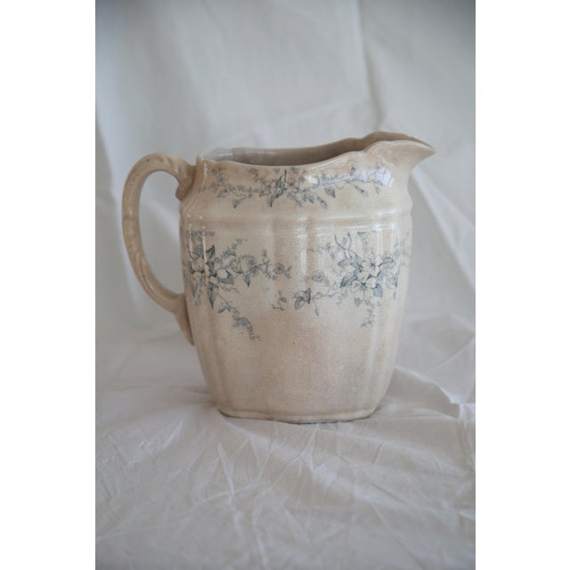 Antique English Transferware Pitcher - Image 2 of 8