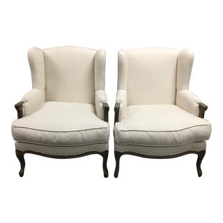 Pacific Direct Marie Armchairs, a Pair