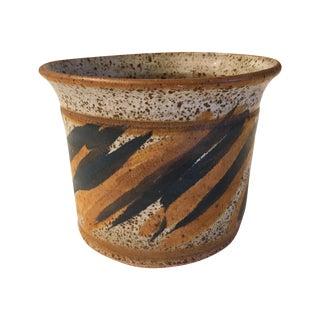 Mid-Century Abstract Ceramic Planter