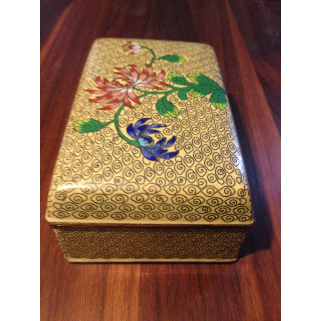 Vintage Cloisonne Box - Image 4 of 5