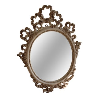 French Provincial Shabby Chic Vanity Mirror