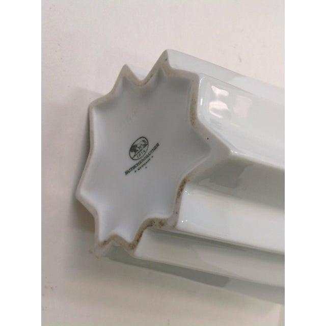 Hutschenreuther White Op Art Vase - Image 7 of 7