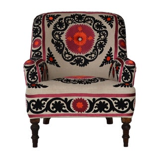 Bella Embroidered Armchair