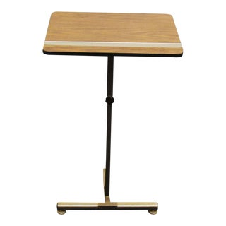 Modern Metal Wood Top Podium