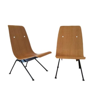 Jean Prouve Bentwood Antony Chairs - A Pair