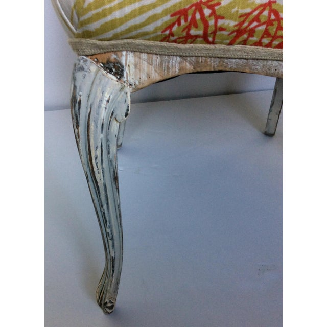 Antique Upholstered Chair - Image 7 of 8
