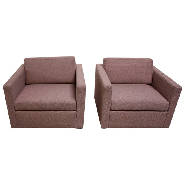Pair of Jack Cartwright Cube Chairs - Image 1 of 9