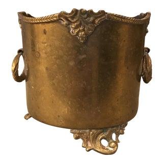 Orante Brass Planter