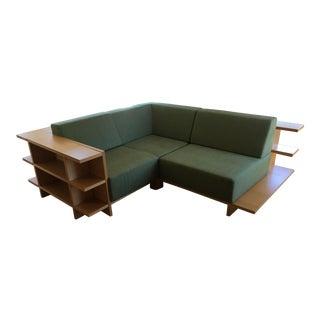Morelato Bookshelf Sofa Sectional