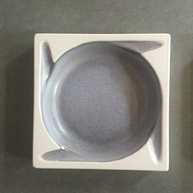 Porcelain Ashtrays by Hyalyn - a Pair - Image 5 of 8