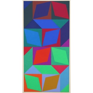 Original Lithograph by Victor Vasarely