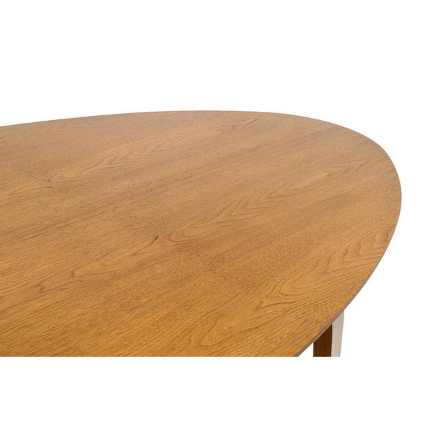 Norman Cherner Oval Dining Table - Image 5 of 6