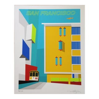 """Michael Murphy """"Pacific Heights Rice-A-Roni"""" Print"""