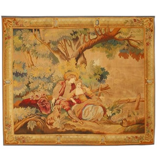 Antique 19th Century French Tapestry