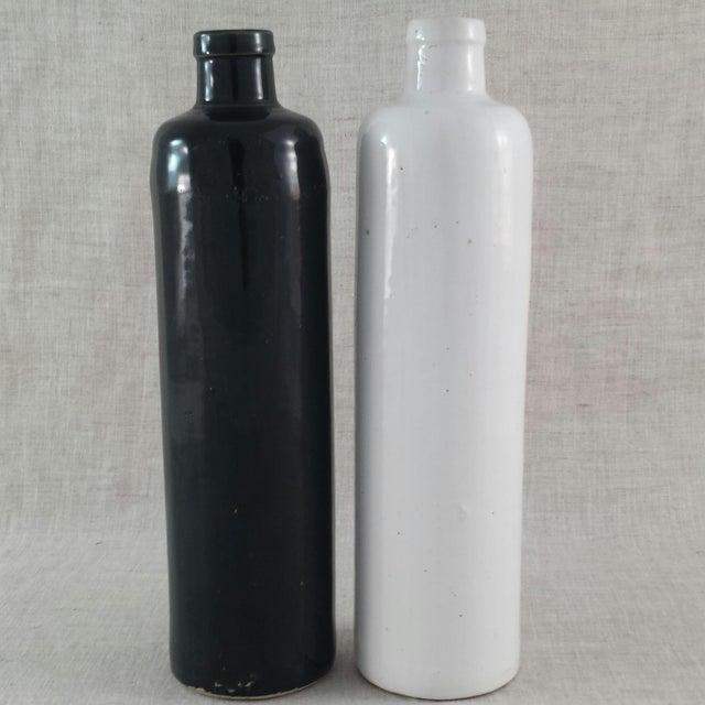 Image of James Beam Stoneware Bottles - A Pair