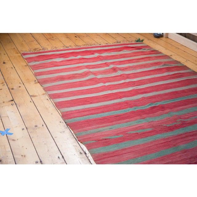 "Vintage Kilim Carpet - 5'3"" X 11'7"" - Image 6 of 6"