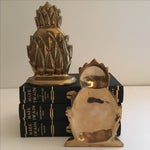 Image of Vintage Brass Pineapple Bookends - Pair