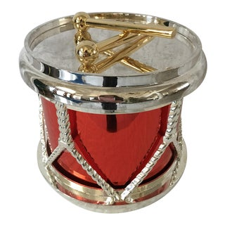 Godinger Silverplate Drum Ice Bucket